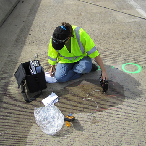 testing surface resistivity